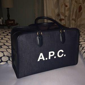 A.P.C. Large Denim Bag